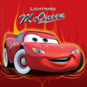 Cars Lightning Mcqueen Metallic Party Invitations Pack Of 6